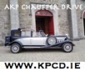 Wedding Ad. for KPCD.ie/ AKP Chauffeur Drive Wedding Cars Dublin Limousines Meath Weddings Suppliers