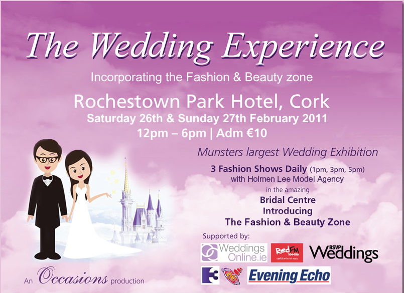 The Wedding Experience Cork 2011 Rochestown Park Hotel Cork February 2011