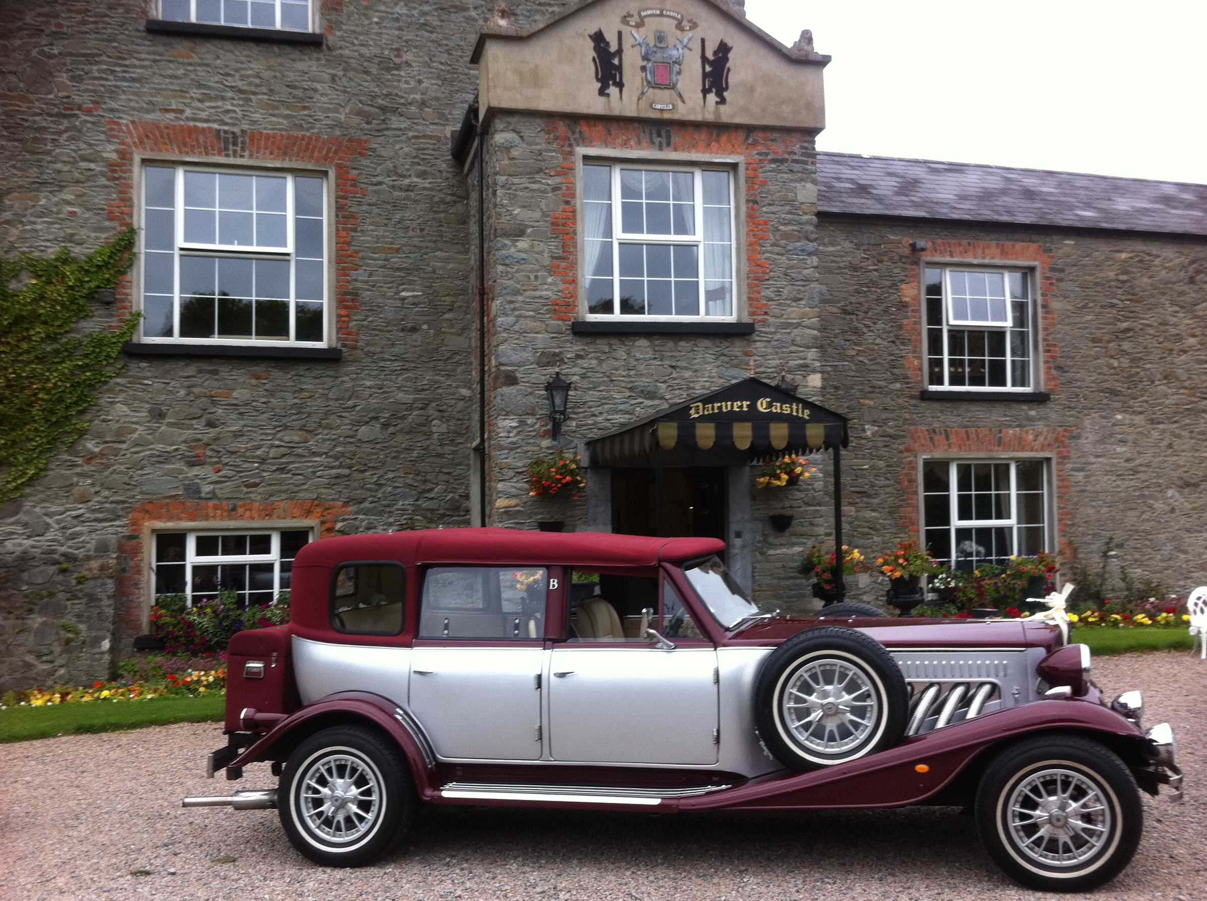 Wine Silver Beauford Wedding Cars Dublin